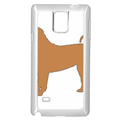 Chinese Shar Pei Silo Color Samsung Galaxy Note 4 Case (White)