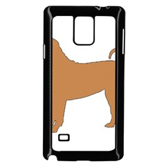 Chinese Shar Pei Silo Color Samsung Galaxy Note 4 Case (Black)