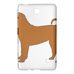 Chinese Shar Pei Silo Color Samsung Galaxy Tab 4 (8 ) Hardshell Case