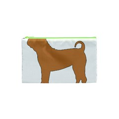 Chinese Shar Pei Silo Color Cosmetic Bag (XS)