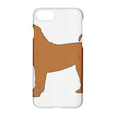 Chinese Shar Pei Silo Color Apple iPhone 7 Hardshell Case