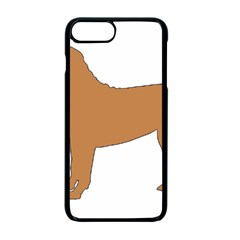 Chinese Shar Pei Silo Color Apple iPhone 7 Plus Seamless Case (Black)