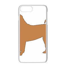 Chinese Shar Pei Silo Color Apple iPhone 7 Plus White Seamless Case