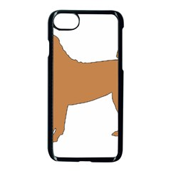 Chinese Shar Pei Silo Color Apple iPhone 7 Seamless Case (Black)