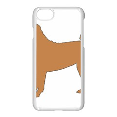 Chinese Shar Pei Silo Color Apple iPhone 7 Seamless Case (White)