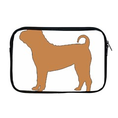 Chinese Shar Pei Silo Color Apple MacBook Pro 17  Zipper Case