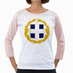 Greece National Emblem  Girly Raglans