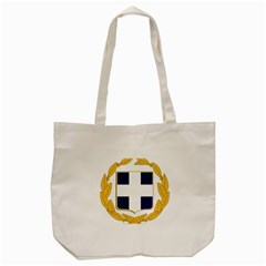 Greece National Emblem  Tote Bag (Cream)