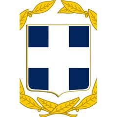 Greece National Emblem  5.5  x 8.5  Notebooks