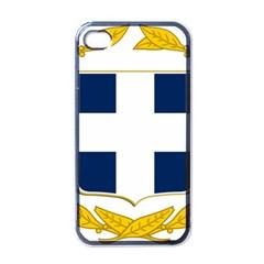 Greece National Emblem  Apple iPhone 4 Case (Black)