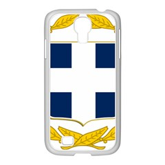Greece National Emblem  Samsung GALAXY S4 I9500/ I9505 Case (White)