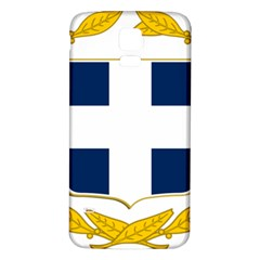 Greece National Emblem  Samsung Galaxy S5 Back Case (White)