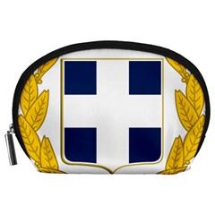 Greece National Emblem  Accessory Pouches (Large)