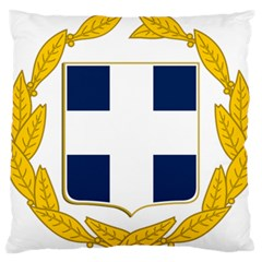 Greece National Emblem  Standard Flano Cushion Case (One Side)
