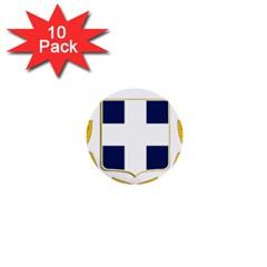 Greece National Emblem  1  Mini Buttons (10 pack)