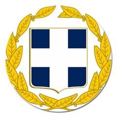 Greece National Emblem  Magnet 5  (Round)
