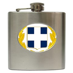 Greece National Emblem  Hip Flask (6 oz)