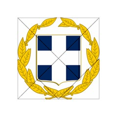 Greece National Emblem  Acrylic Tangram Puzzle (4  x 4 )