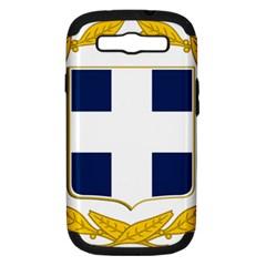 Greece National Emblem  Samsung Galaxy S III Hardshell Case (PC+Silicone)
