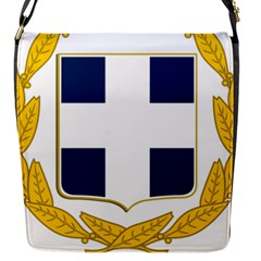 Greece National Emblem  Flap Messenger Bag (S)