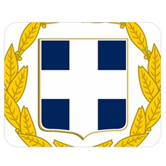 Greece National Emblem  Double Sided Flano Blanket (Medium)