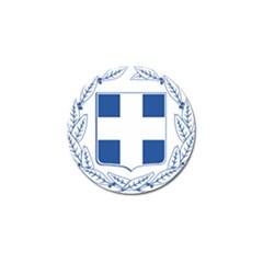 Greece National Emblem  Golf Ball Marker (4 pack)