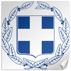 Greece National Emblem  Canvas 20  x 20