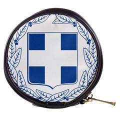 Greece National Emblem  Mini Makeup Bags