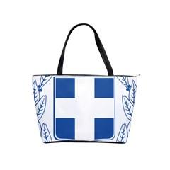 Greece National Emblem  Shoulder Handbags