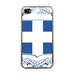 Greece National Emblem  Apple iPhone 4 Case (Clear)