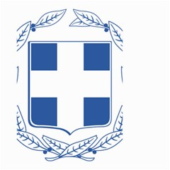 Greece National Emblem  Small Garden Flag (Two Sides)
