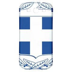 Greece National Emblem  Samsung Galaxy S3 S III Classic Hardshell Back Case