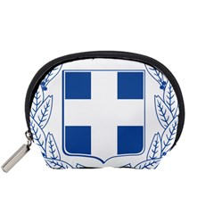 Greece National Emblem  Accessory Pouches (Small)