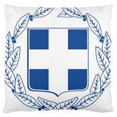 Greece National Emblem  Standard Flano Cushion Case (Two Sides)