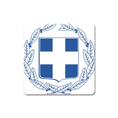 Greece National Emblem  Square Magnet