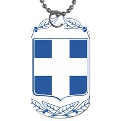 Greece National Emblem  Dog Tag (One Side)