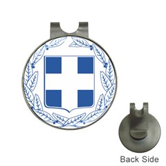 Greece National Emblem  Hat Clips with Golf Markers