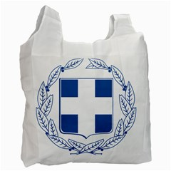 Greece National Emblem  Recycle Bag (Two Side)