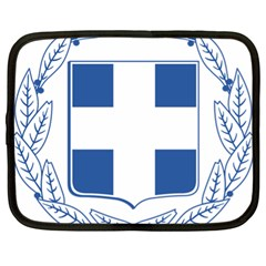 Greece National Emblem  Netbook Case (XL)