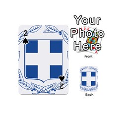Greece National Emblem  Playing Cards 54 (Mini)