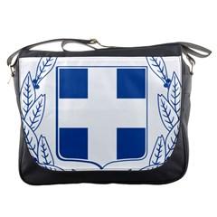 Greece National Emblem  Messenger Bags