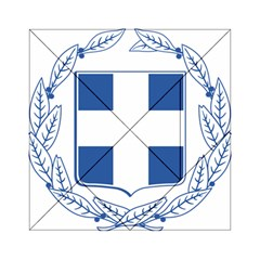 Greece National Emblem  Acrylic Tangram Puzzle (6  x 6 )