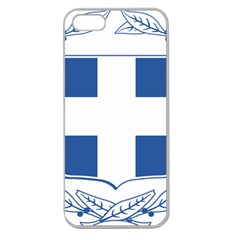 Greece National Emblem  Apple Seamless iPhone 5 Case (Clear)