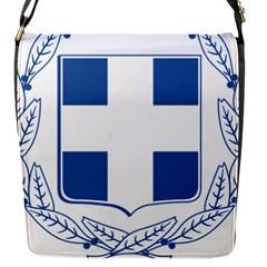 Greece National Emblem  Flap Messenger Bag (S)