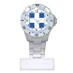 Greece National Emblem  Plastic Nurses Watch