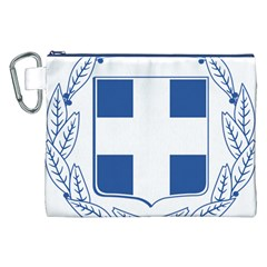 Greece National Emblem  Canvas Cosmetic Bag (XXL)
