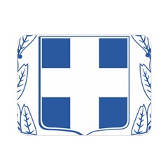 Greece National Emblem  Double Sided Flano Blanket (Mini)