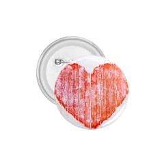 Pop Art Style Grunge Graphic Heart 1.75  Buttons