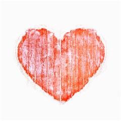 Pop Art Style Grunge Graphic Heart Canvas 16  x 20