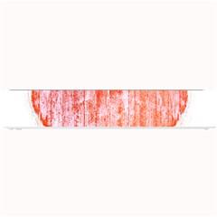 Pop Art Style Grunge Graphic Heart Small Bar Mats